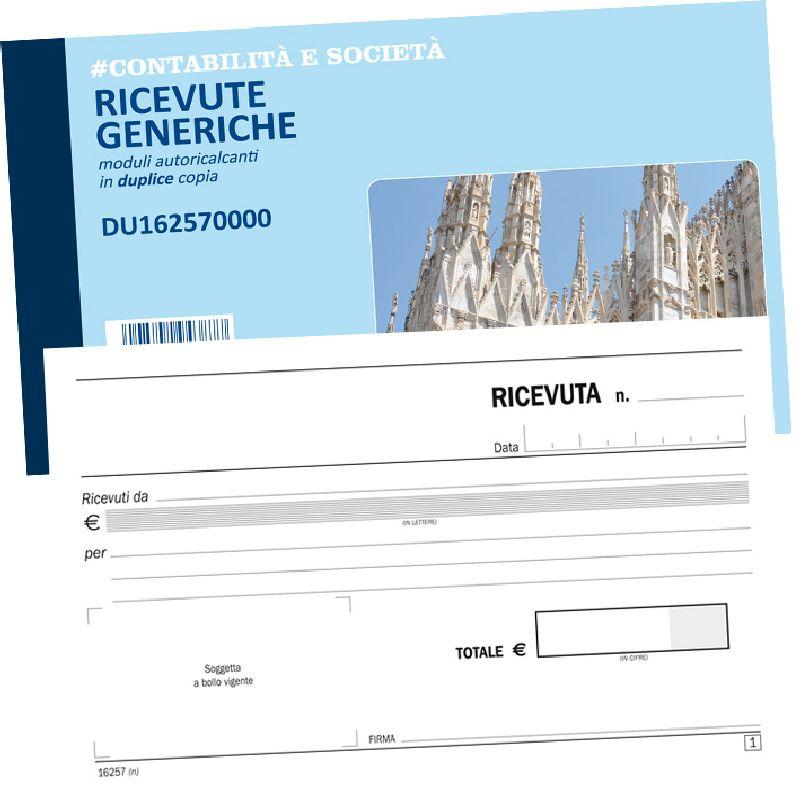 FLEX RICEVUTA GENERICA DUPLICE COPIA